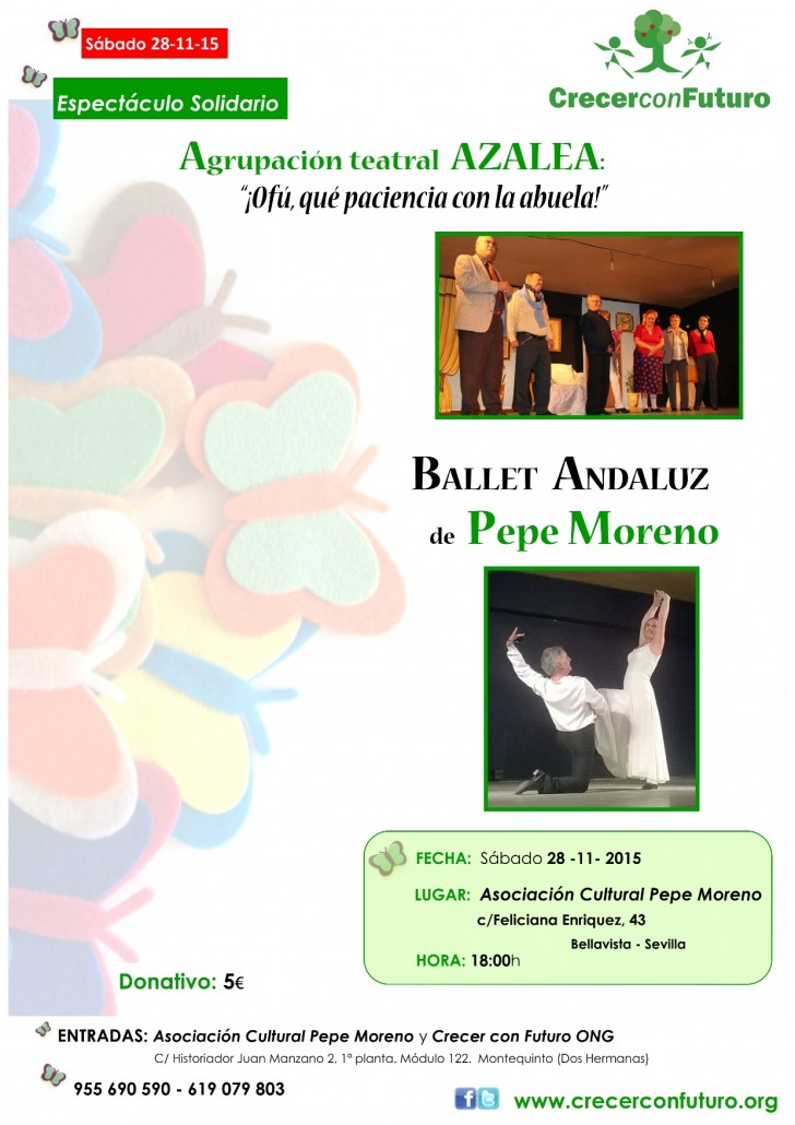 Cartel Teatro y Ballet Andaluz