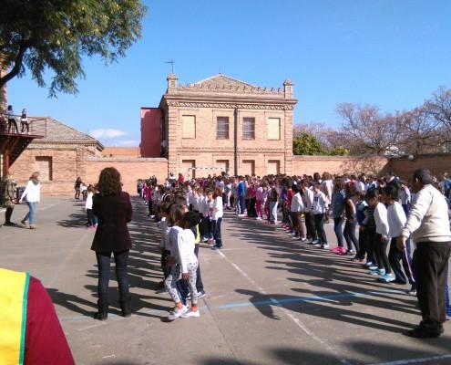 Día de la Paz: Maratón Solidario en El CEIP Ortiz de Zúñiga