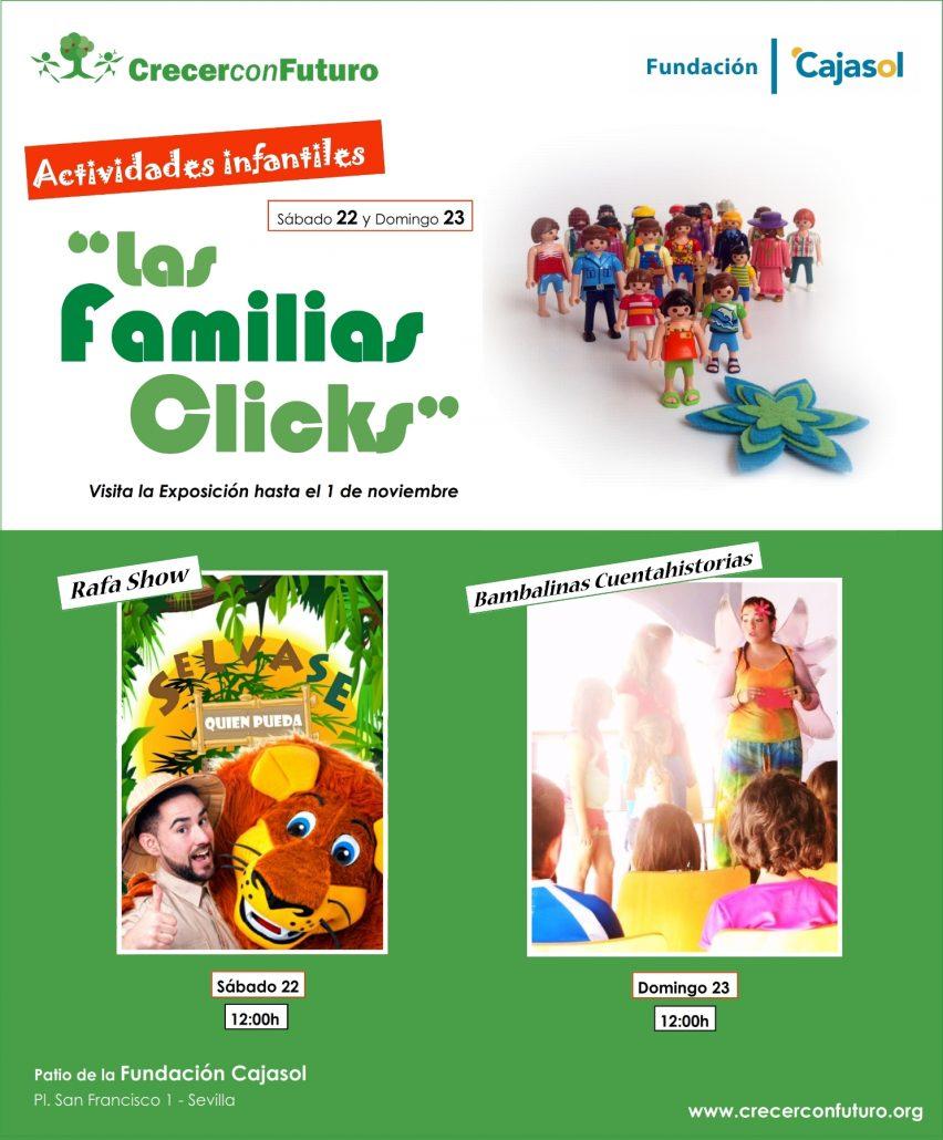 Actuaciones en Las Familias Clicks
