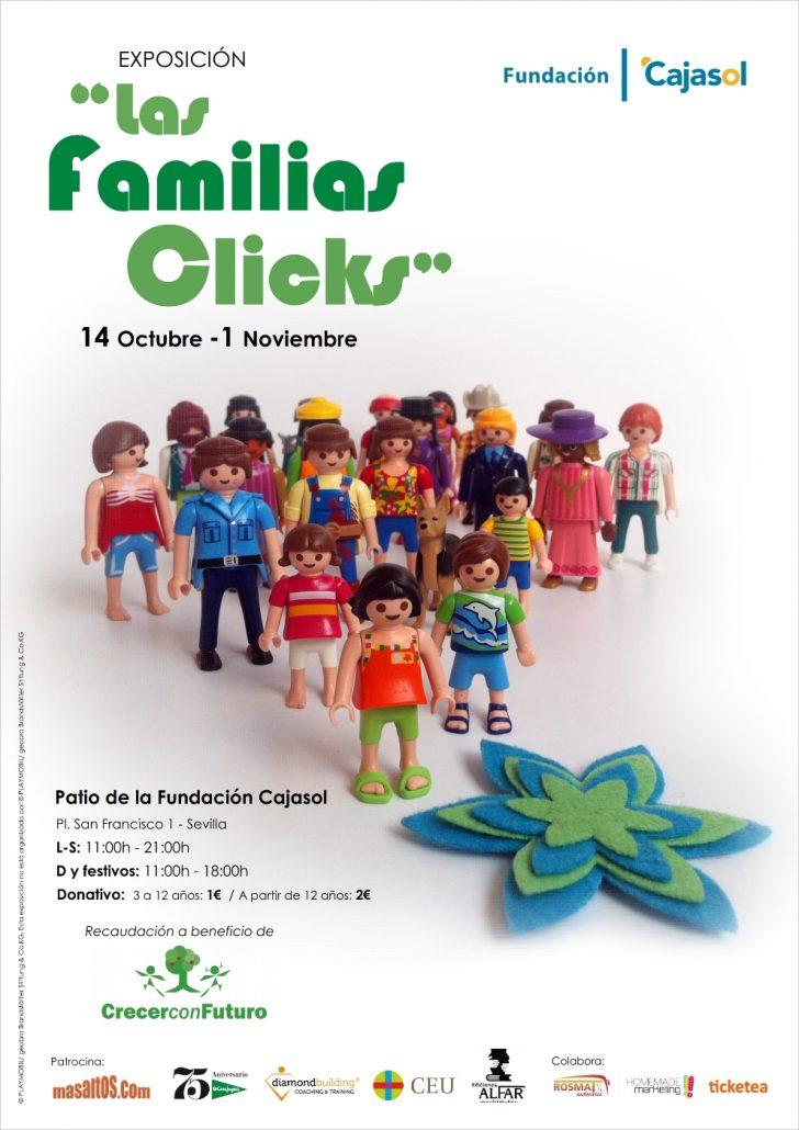 Cartel LAS FAMILIAS CLICKS 17-10-16