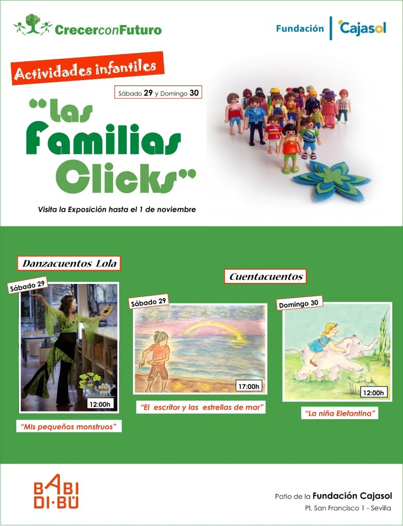 Las Familias Clicks - Actividades infantiles