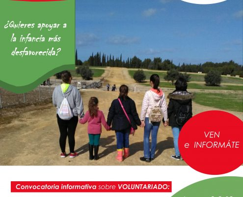 Convocatoria Informativa sobre voluntariado