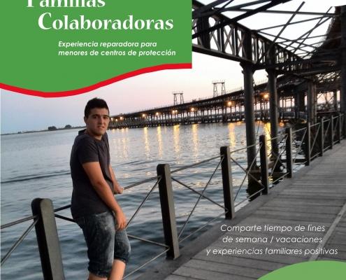Cartel Familias Colaboradoras en Huelva