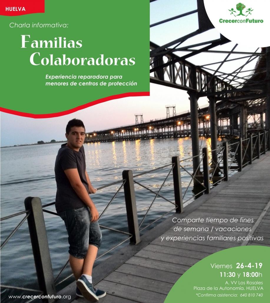 Café informativo Familias Colaboradoras Huelva