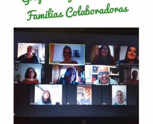 Grupo Familias Colaboradoras confinamiento