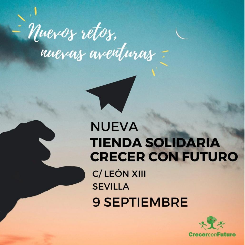Nueva Tienda Solidaria Crecer con Futuro