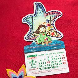 Calendario Solidario de Crecer con futuro